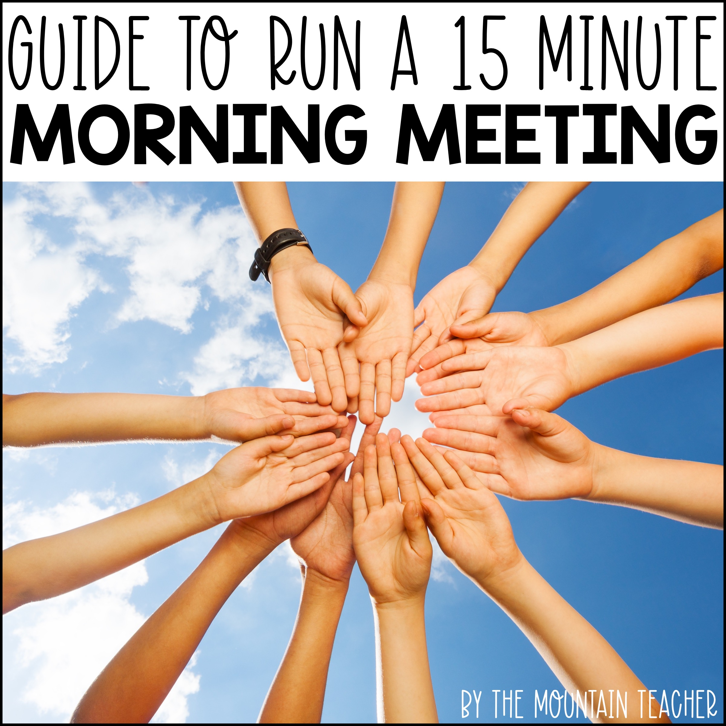 Guide to running an effective 15 minute morning meeting