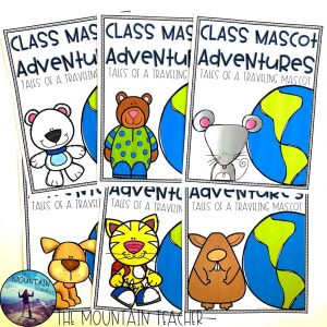 https://www.teacherspayteachers.com/Product/Traveling-Class-Mascot-with-Traveling-Journal-3855101