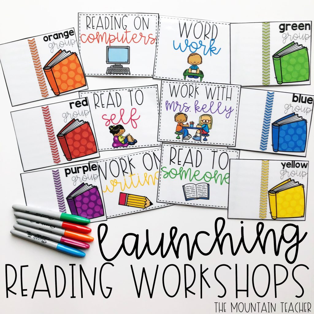 Guide to launching reading workshops in a elementary classroom.