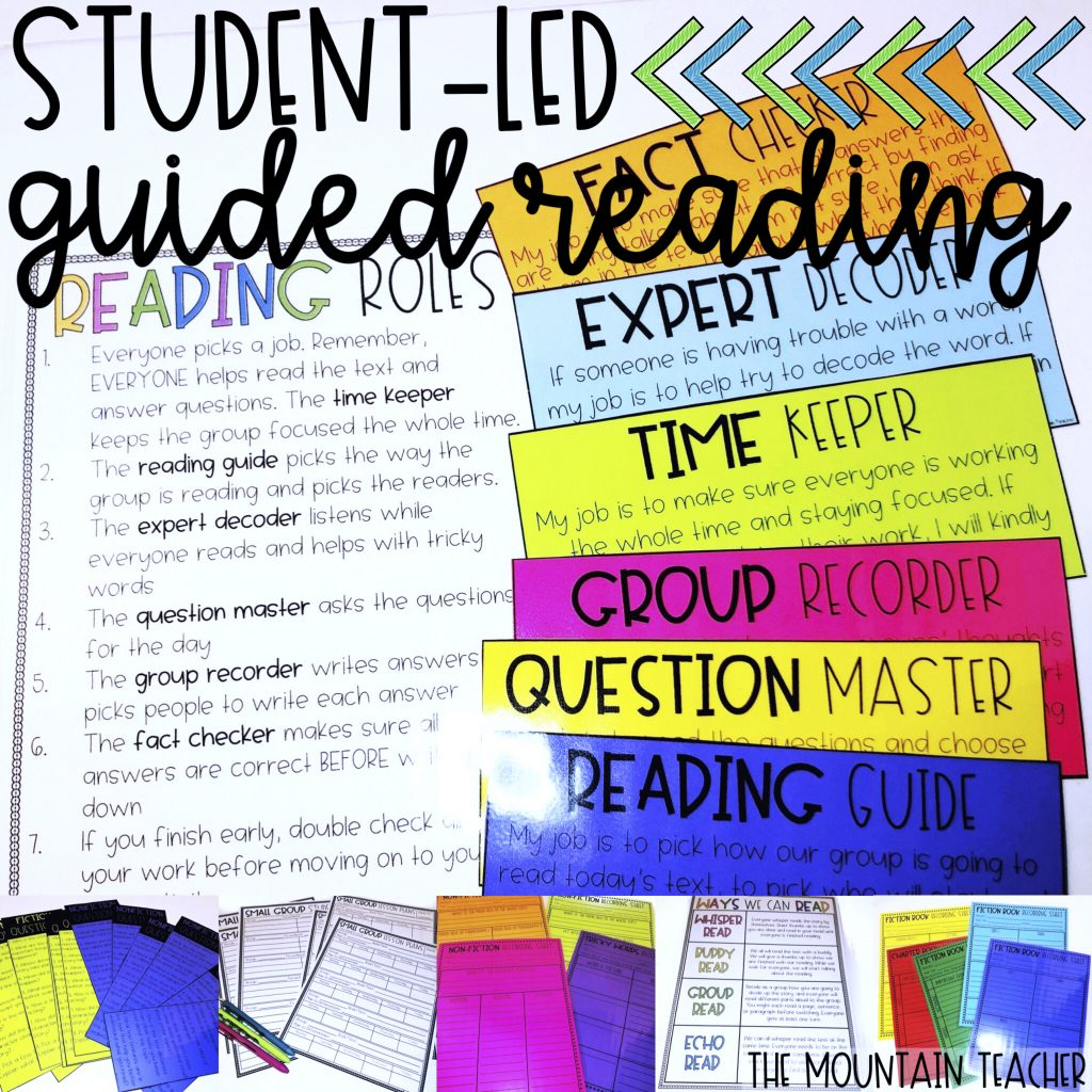 Student Led Guided Reading Groups