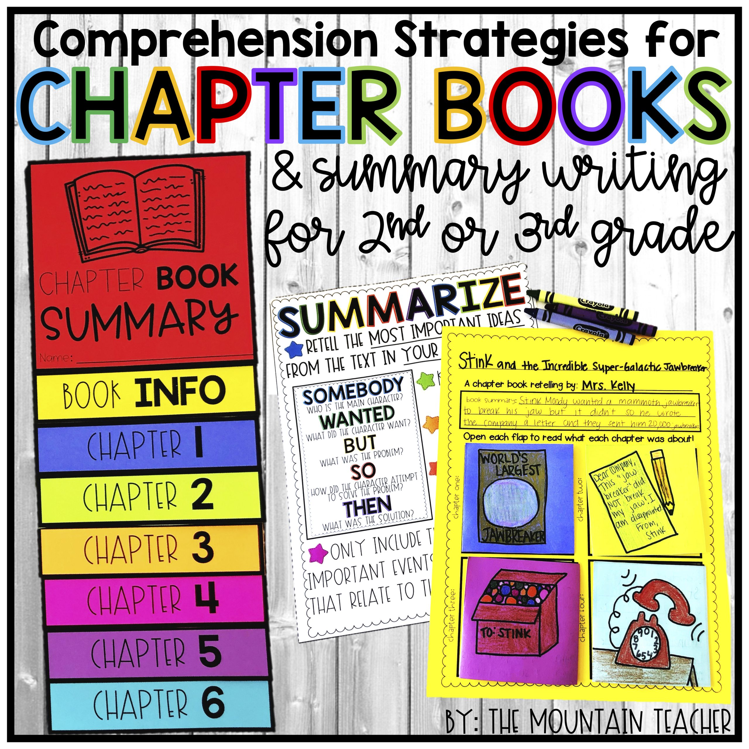 Chapter Book Comprehension