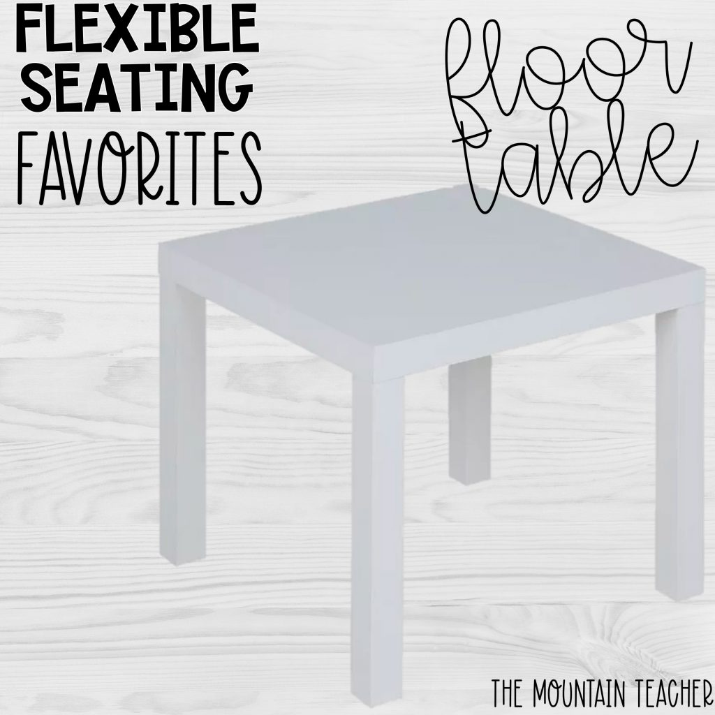 Flexible Seating Favorites Floor Table