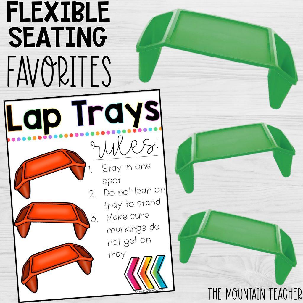 Flexible Seating Favorites Lap Trays or Lap Desks