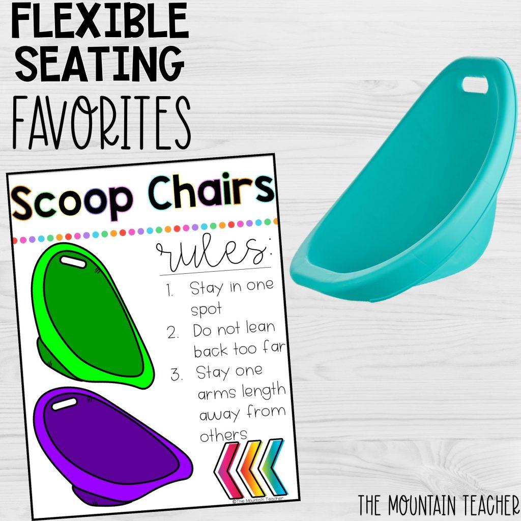 Flexible Seating Favorites Scoop Chairs