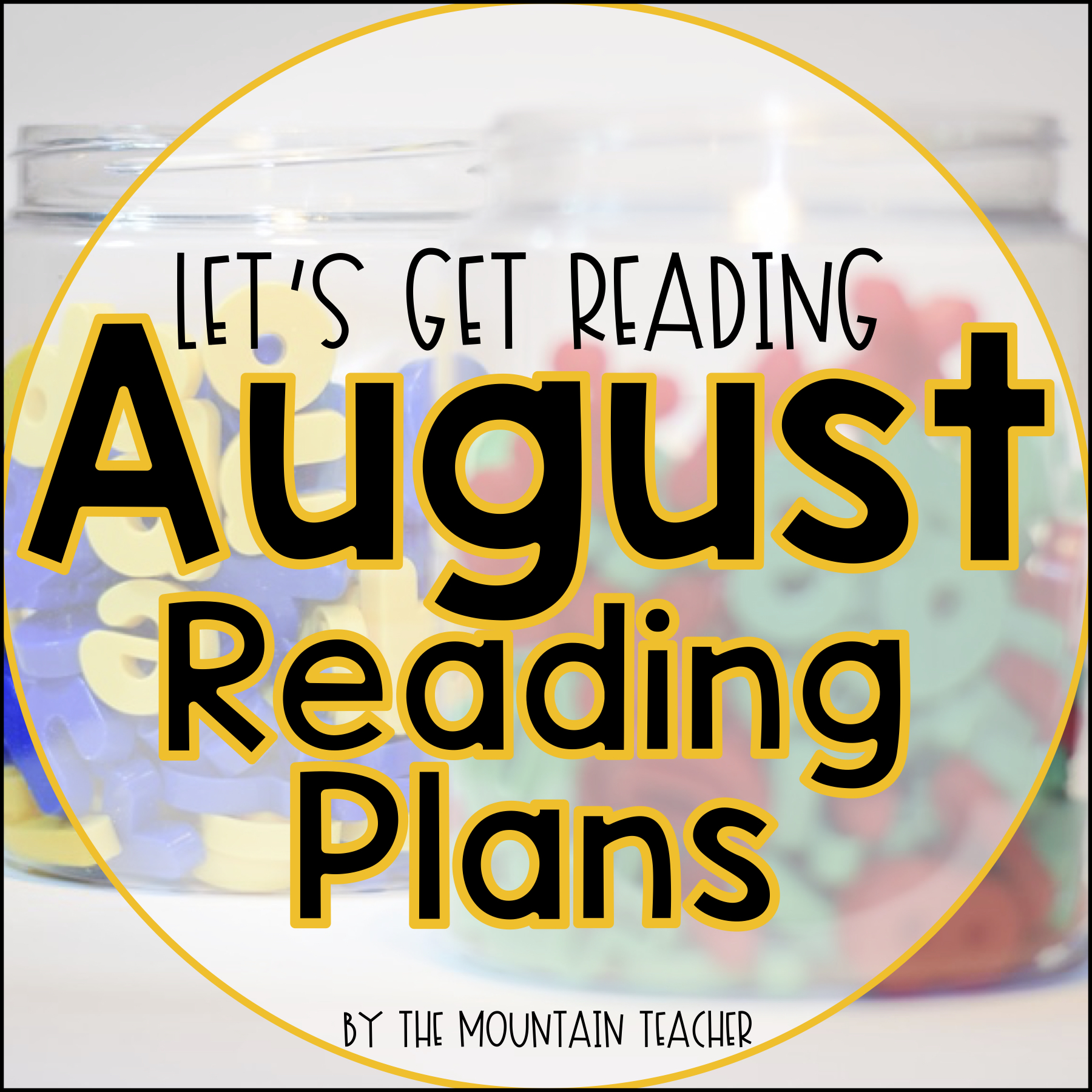 August Let's Get Reading - August reading plans for second grade