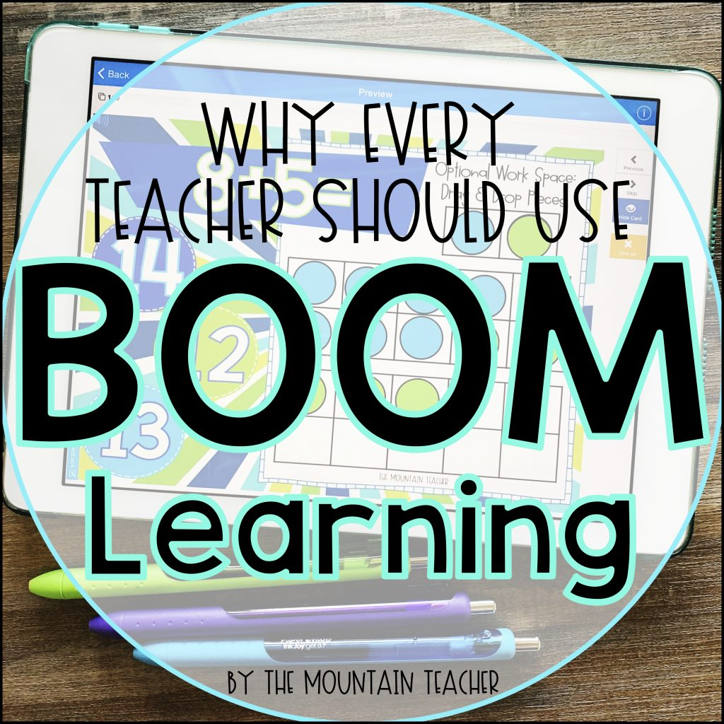 Why every teacher should use BOOM learning in their elementary school digital classroom.