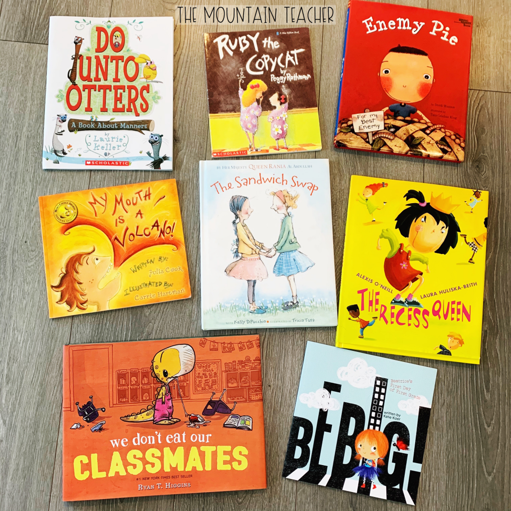 Back to School August Read alouds for second grade reading