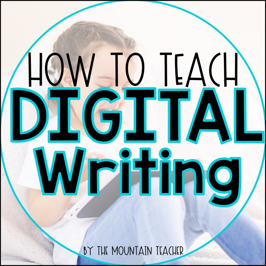 How to Teach Digital Writing for Elementary Students01