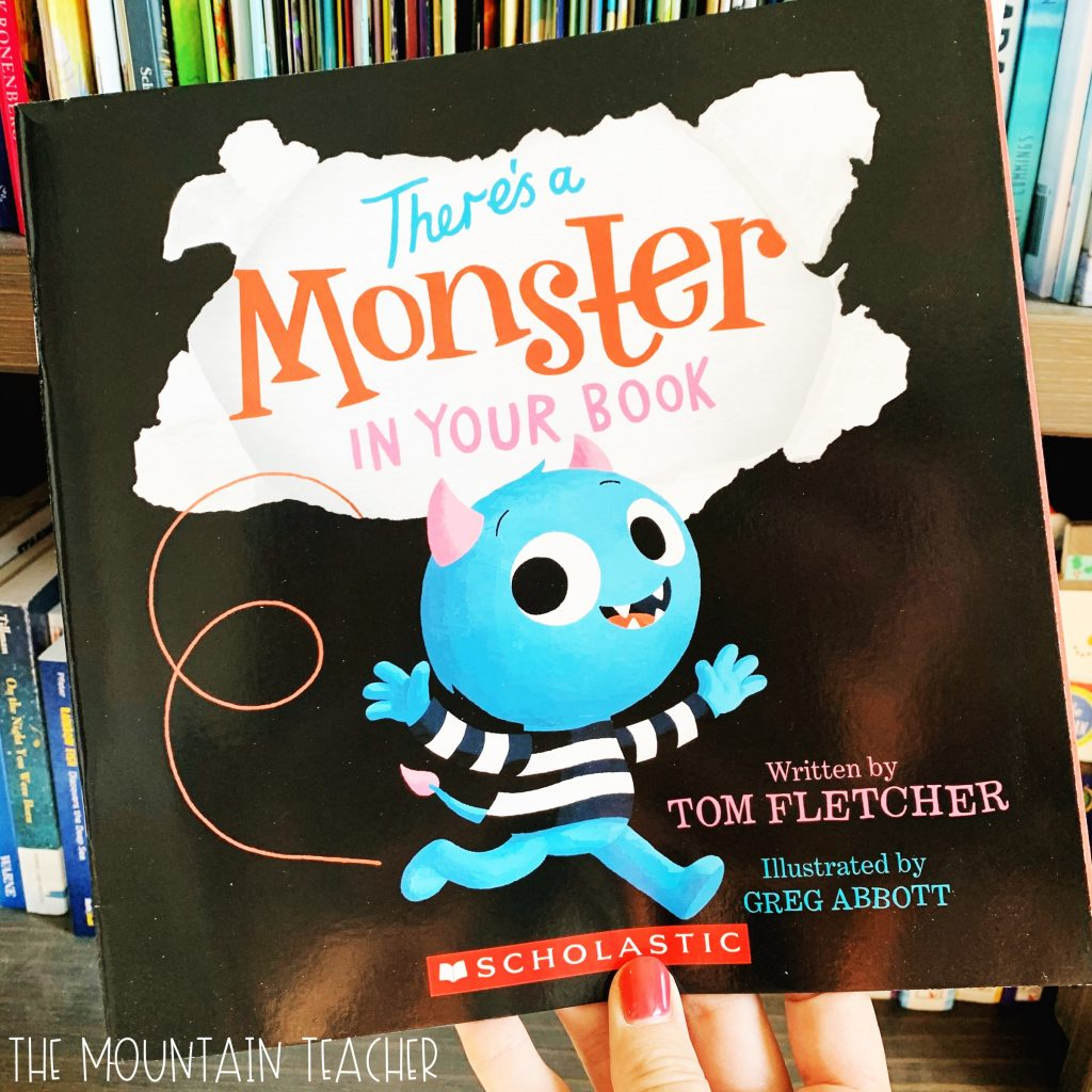 Halloween Read Alouds for Any Classroom: There's a Monster in Your Book