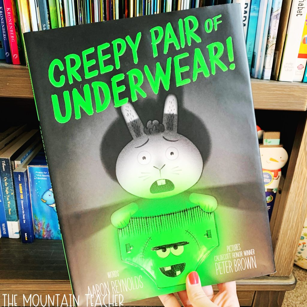 Halloween Read Alouds for Any Classroom: Creepy Pair of Underwear
