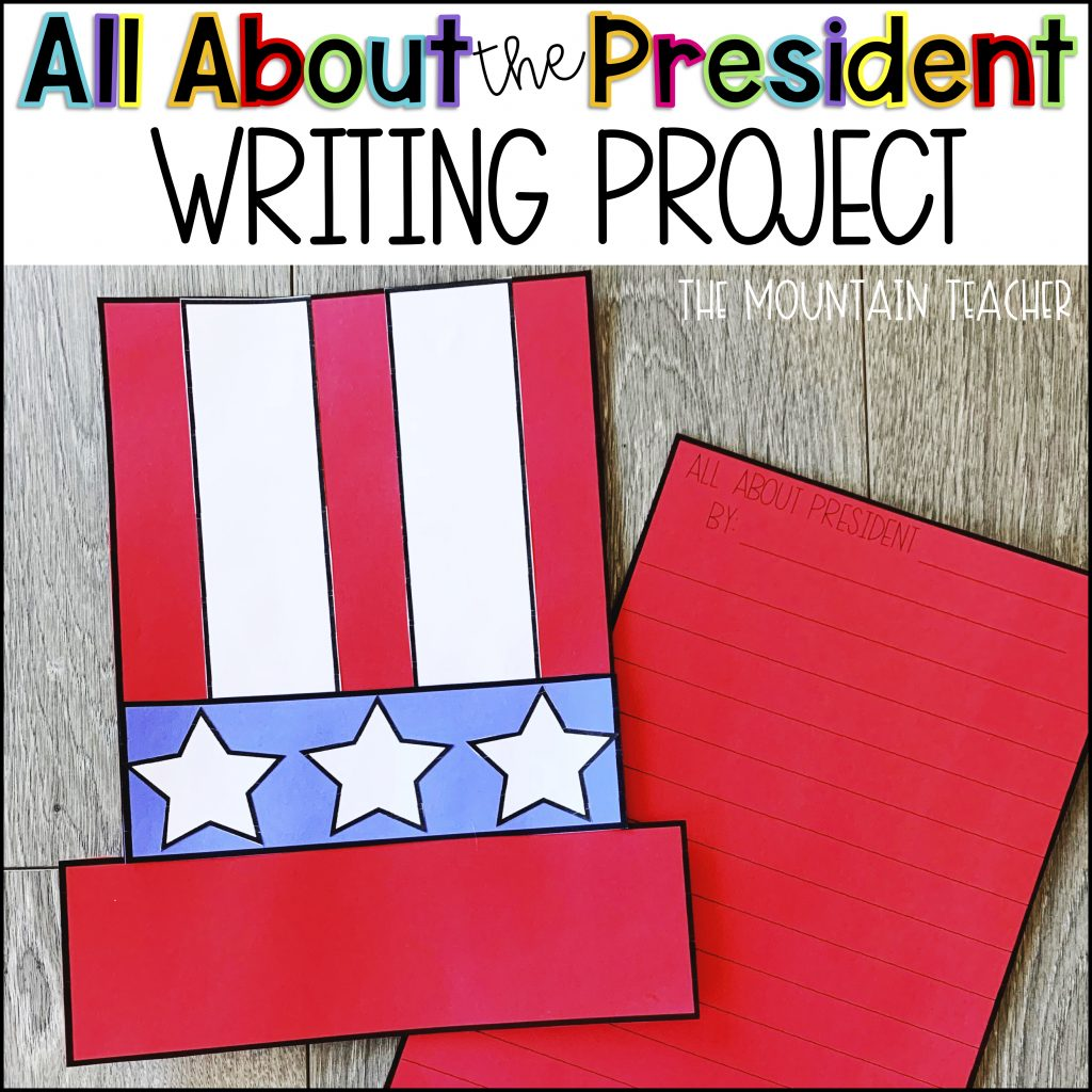 Inauguration Day Activity for elementary students