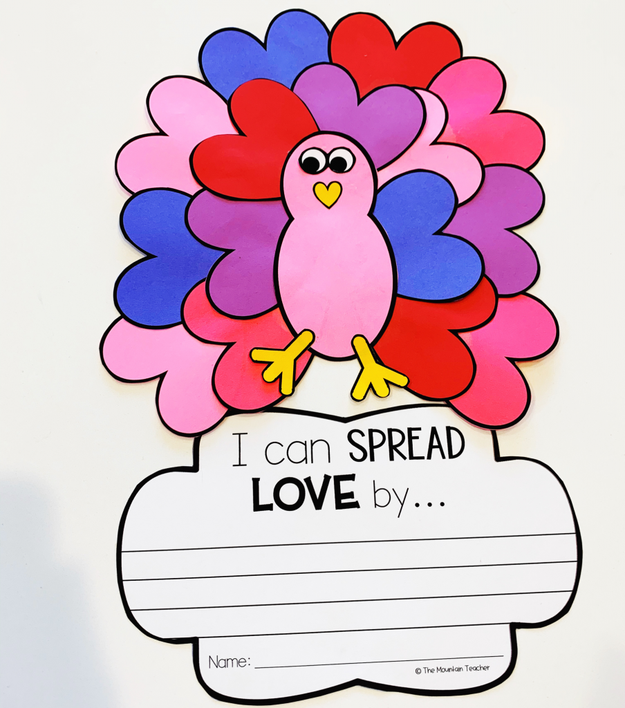Valentines Day Craft for elementary students