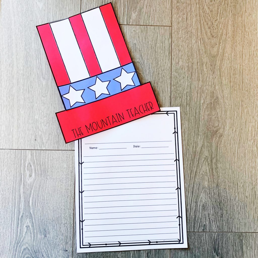 Inauguration Day or Presidents Day Activities for Elementary Aged Students
