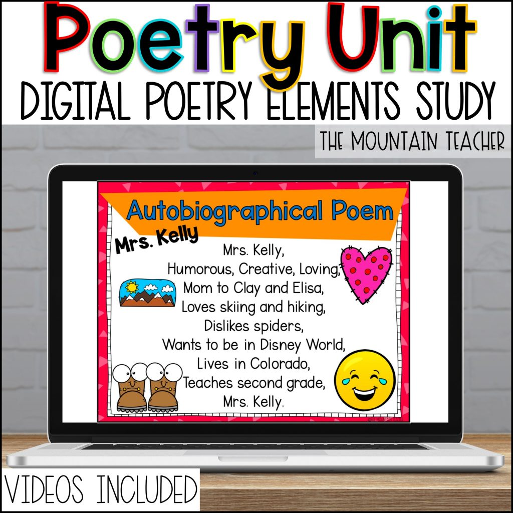 Digital Poetry Reading and Writing Unit for Elementary Students02