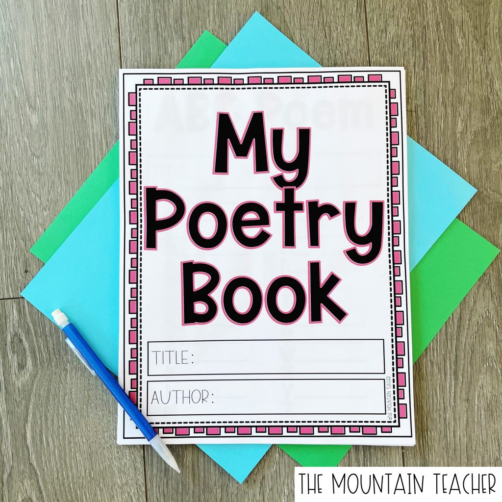 Poetry Book for Elementary Kids