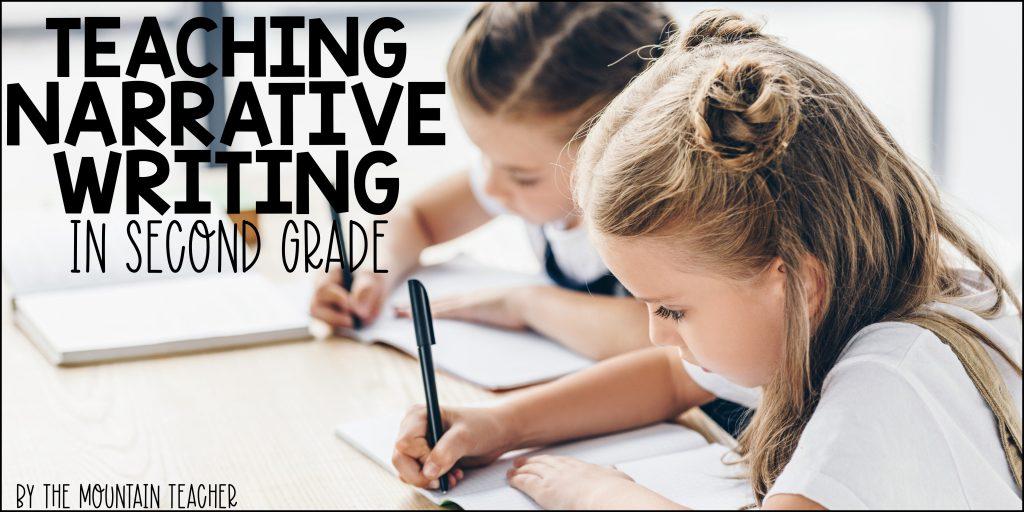 Teaching Narrative Writing in 2nd Grade