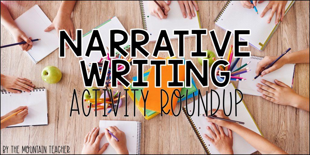 Narrative Writing Activity Roundup