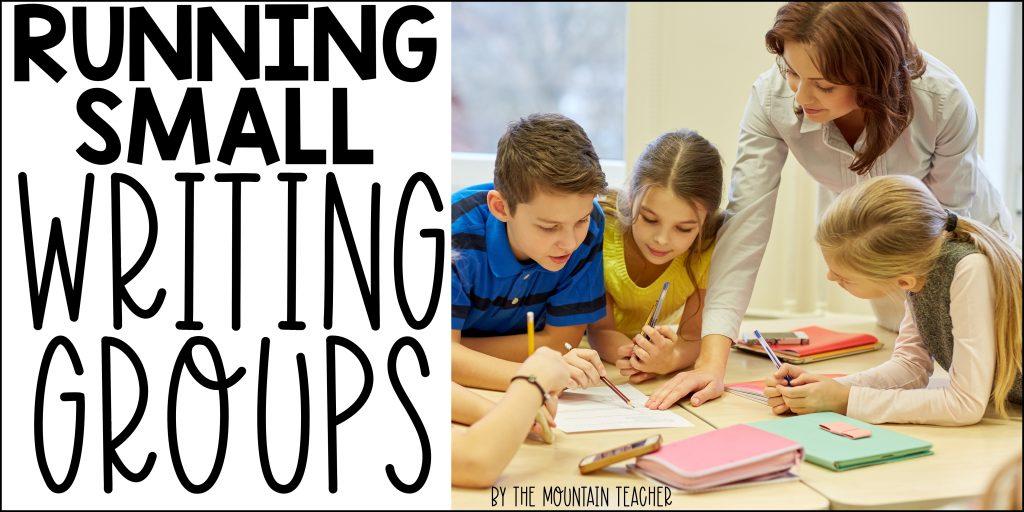 Running Small Writing Groups