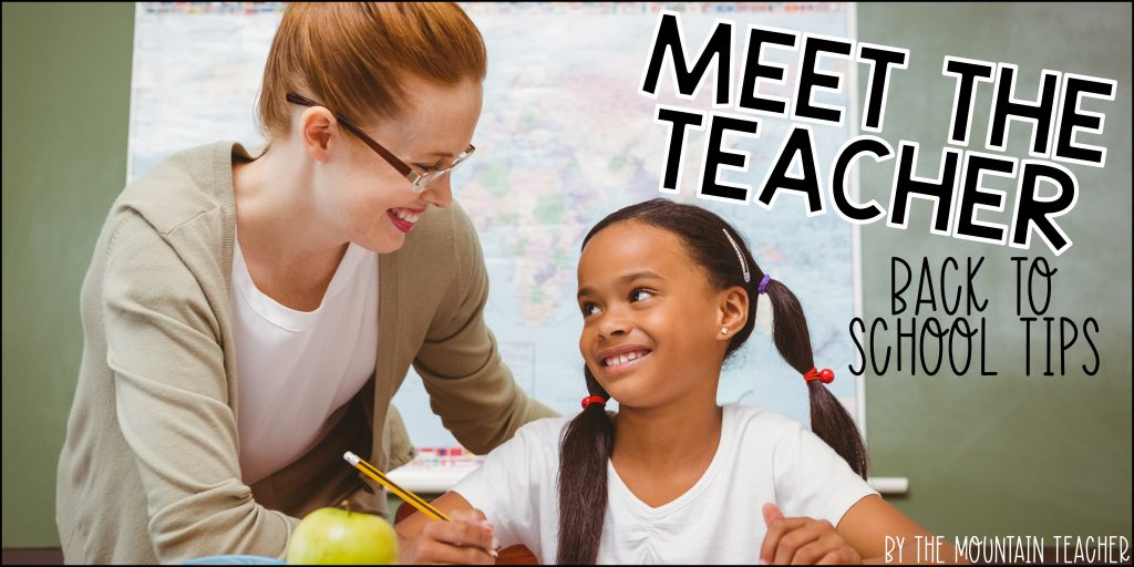 What to include in your meet the teacher template back to school tips