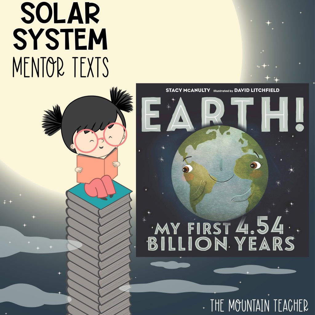 Solar system mentor texts for stars and planets - earth