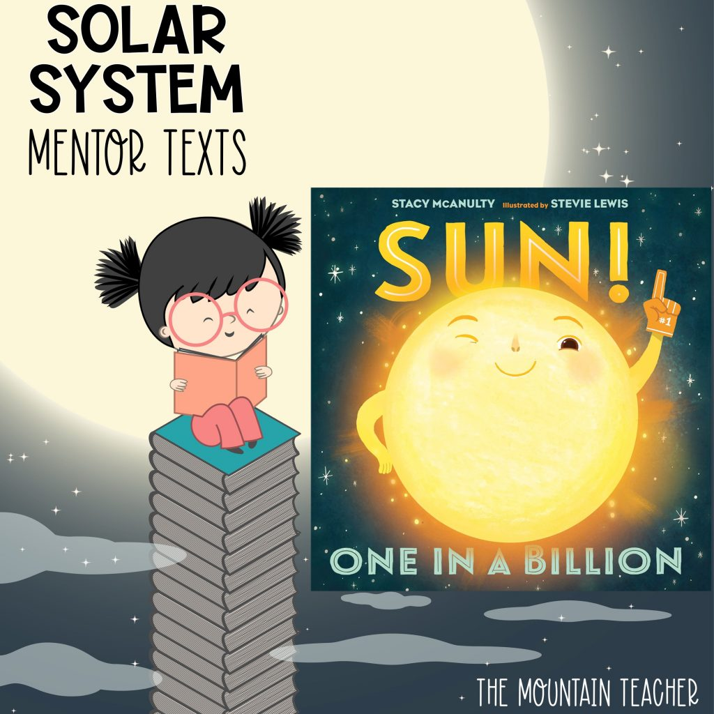 Solar system mentor texts for stars and planets - sun