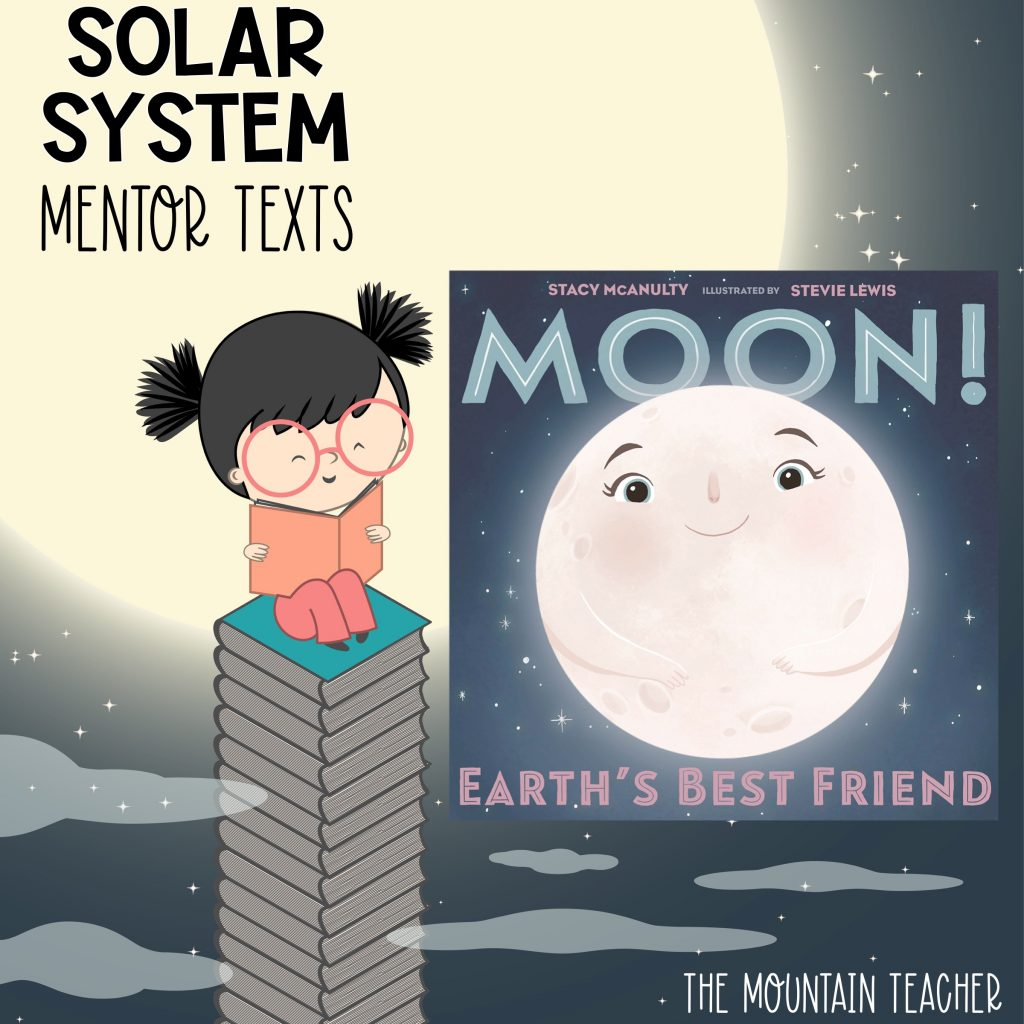 Solar system mentor texts for stars and planets - moon