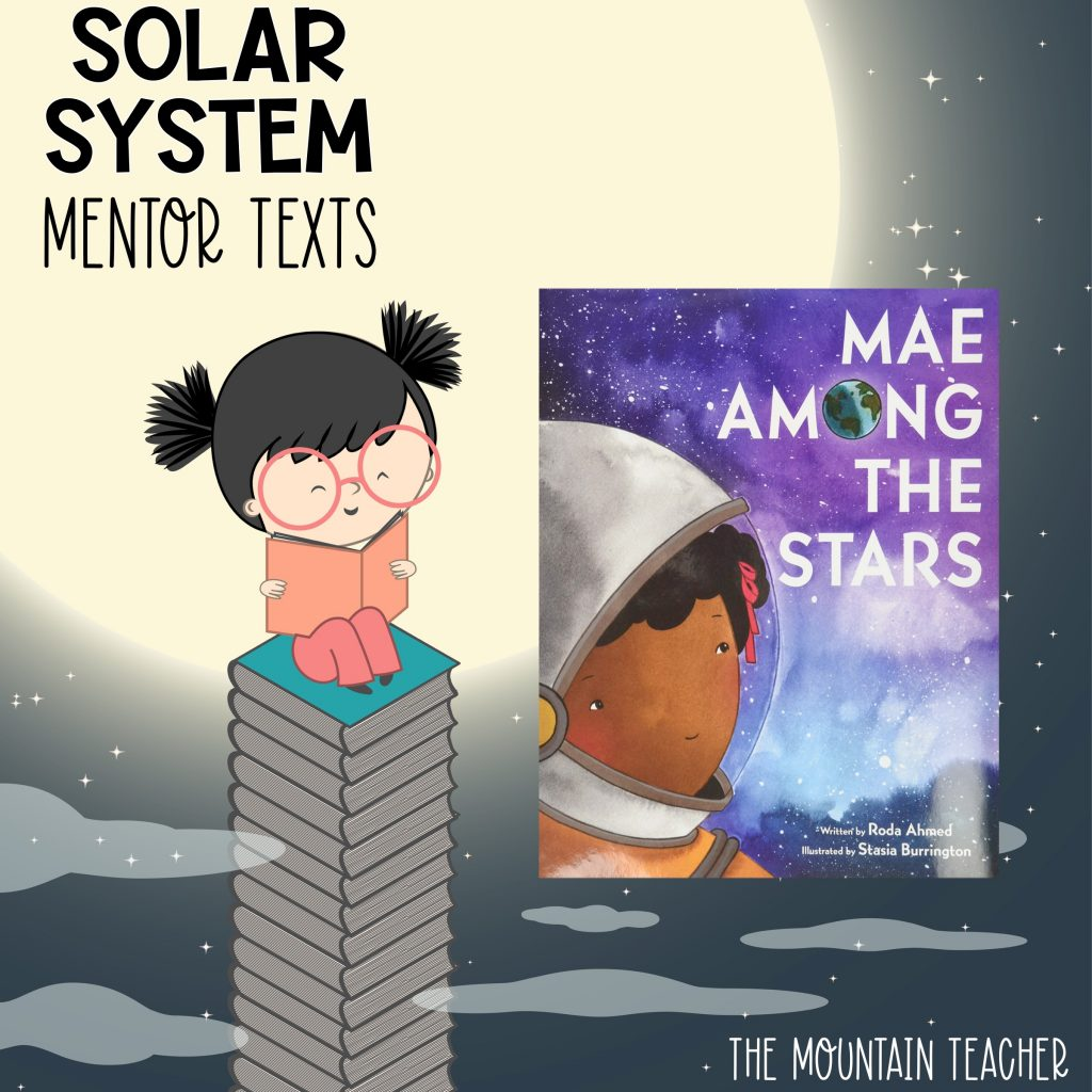 Solar system mentor texts for stars and planets - mae among the stars
