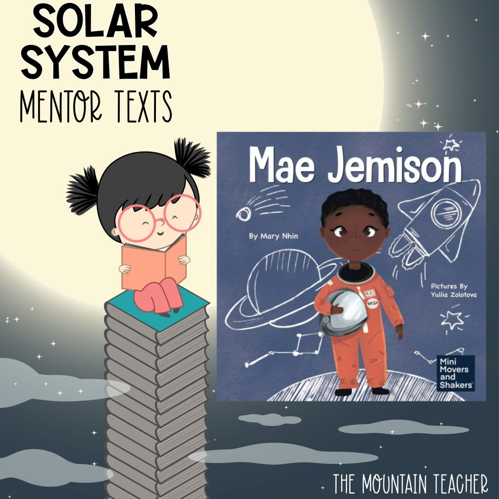 Solar system mentor texts for stars and planets - mae jemison
