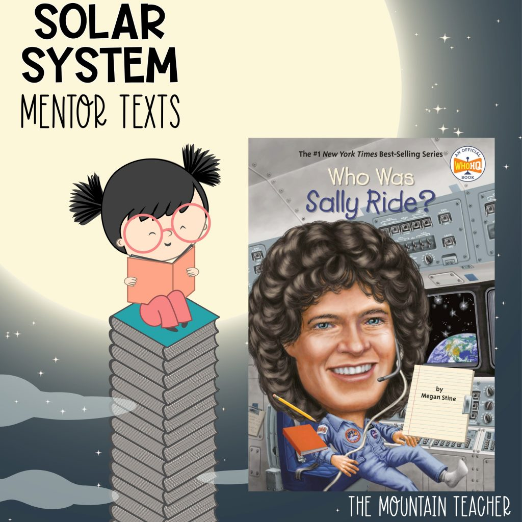 Solar system mentor texts for stars and planets - who was sally ride?
