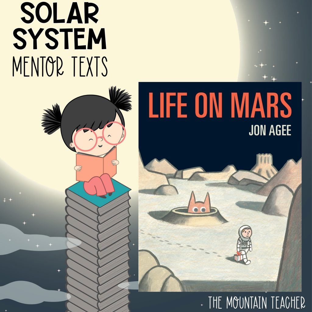 Solar system mentor texts for stars and planets - life on mars
