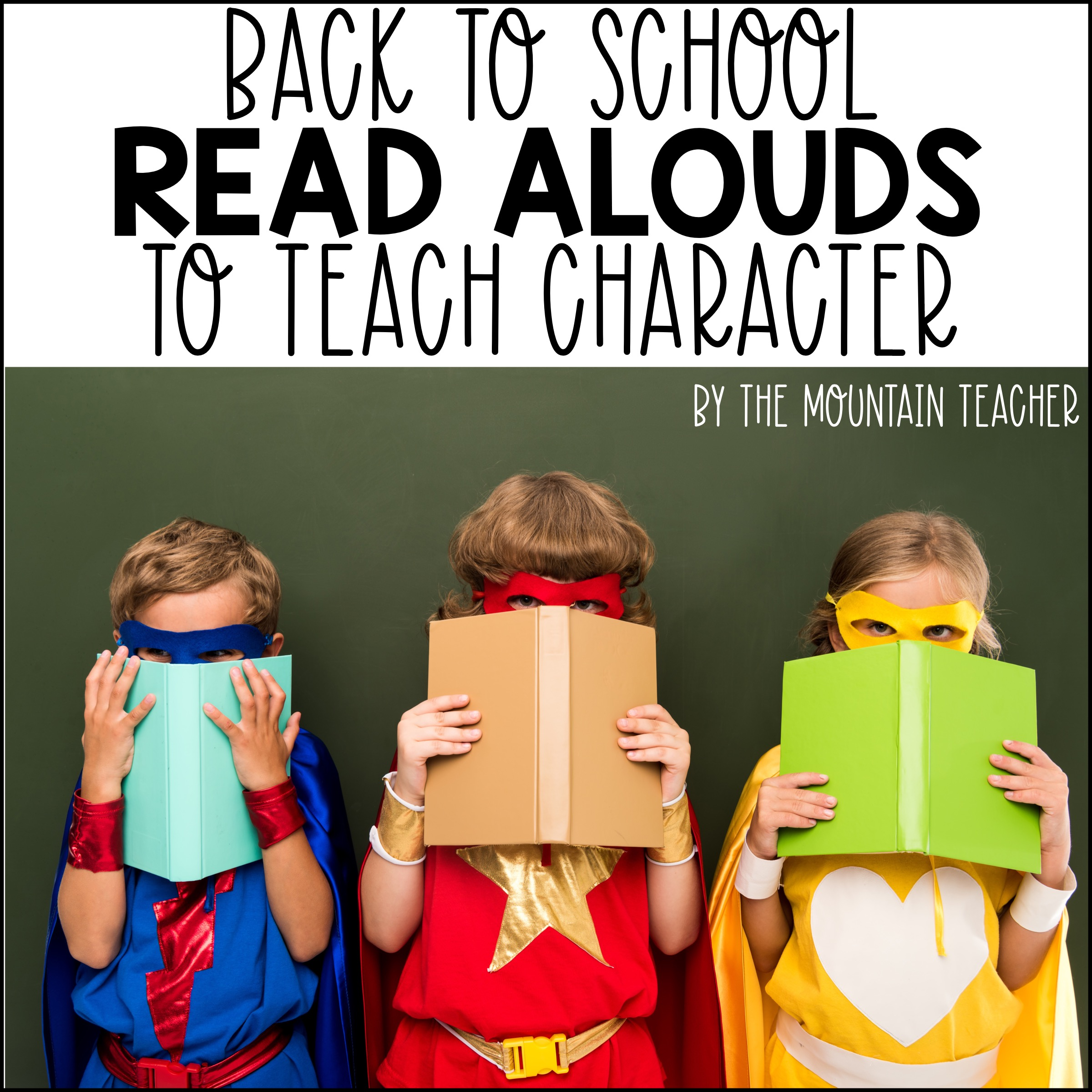 Back to School Read Alouds that Build Character