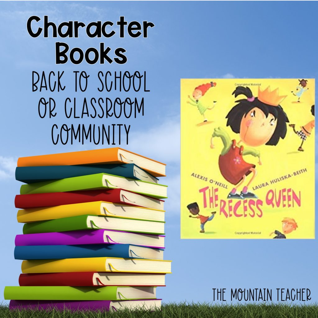 Mean Jean The Recess Queen Character Books Back to School or Classroom Community 505