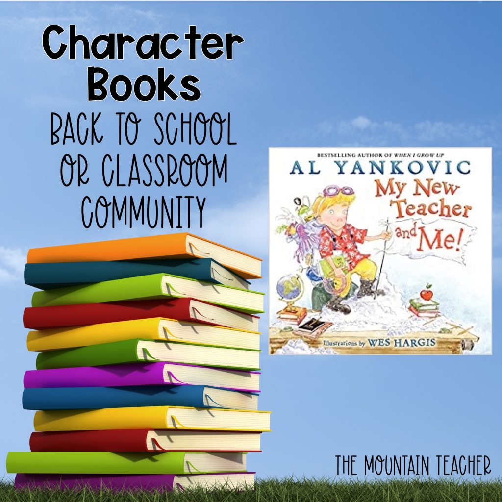 My New Teacher and Me Character Books Back to School or Classroom Community01