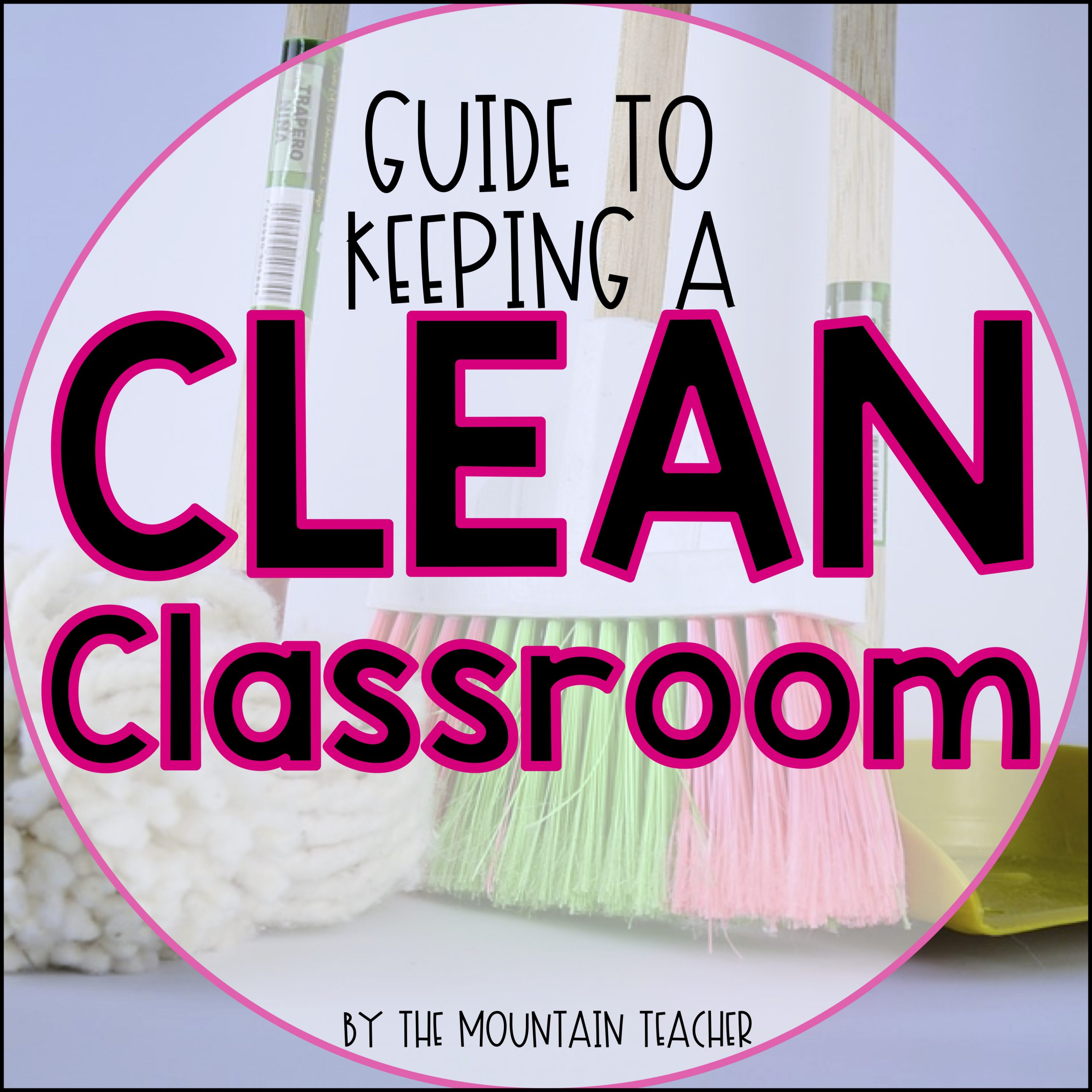 Guide to keeping a clean elementary school classroom