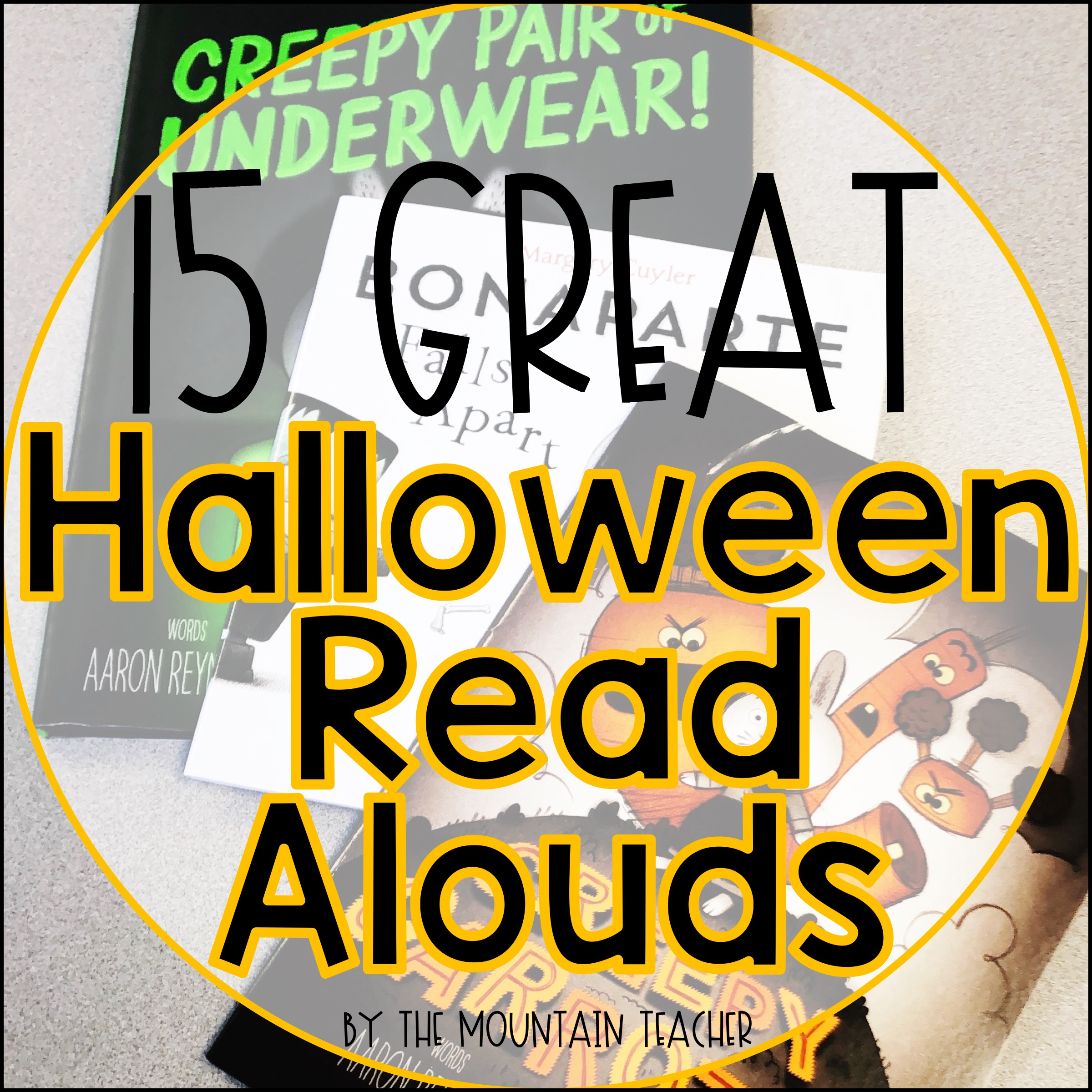 15 Great Halloween Books for Any Elementary Classroom