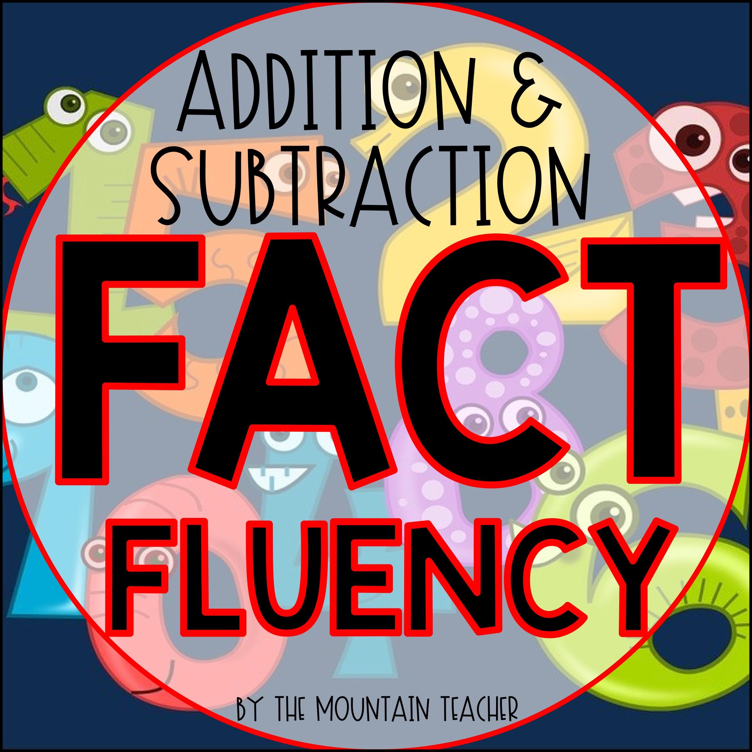 Math Fact fluency to 20