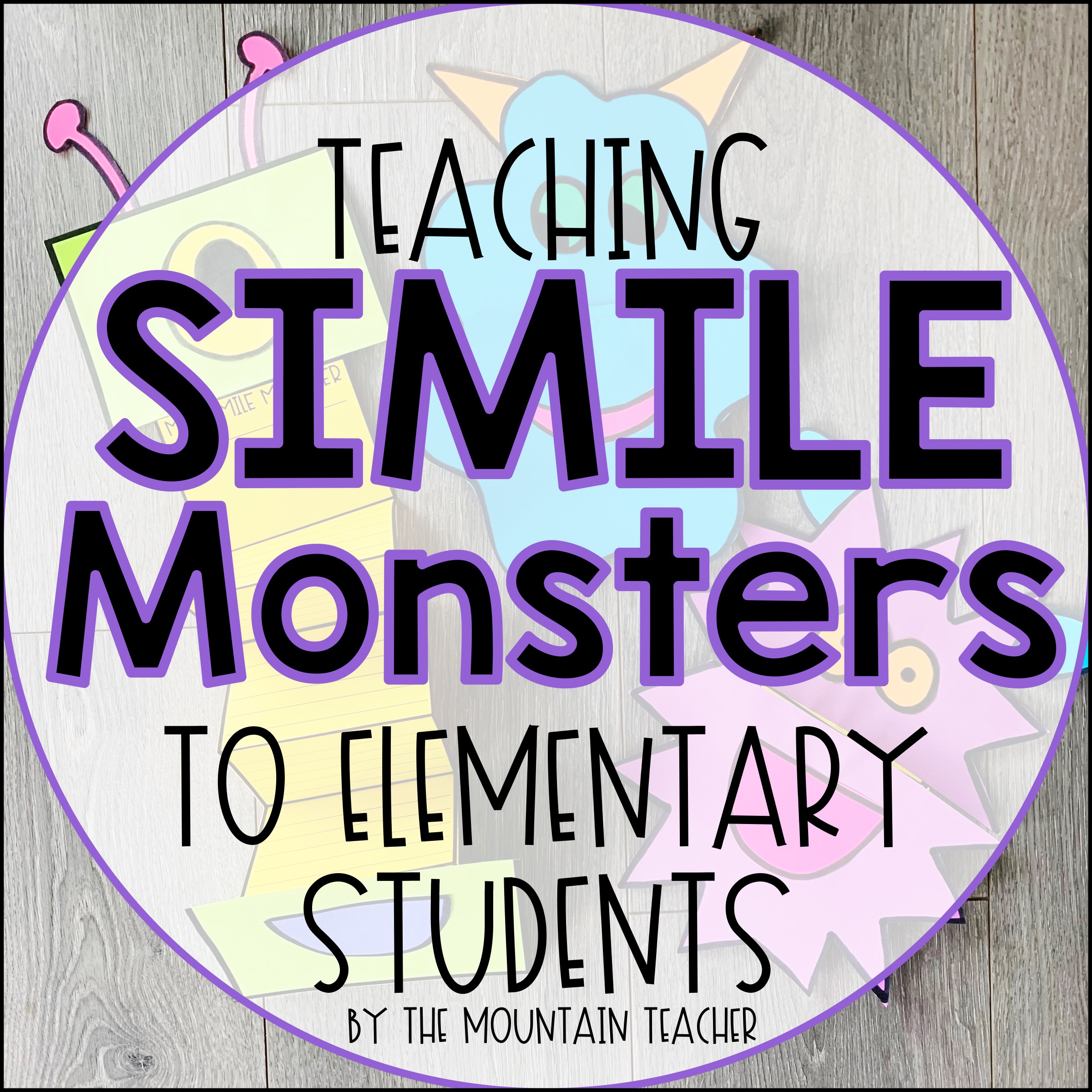 Teaching Simile Monsters to Elementary Students