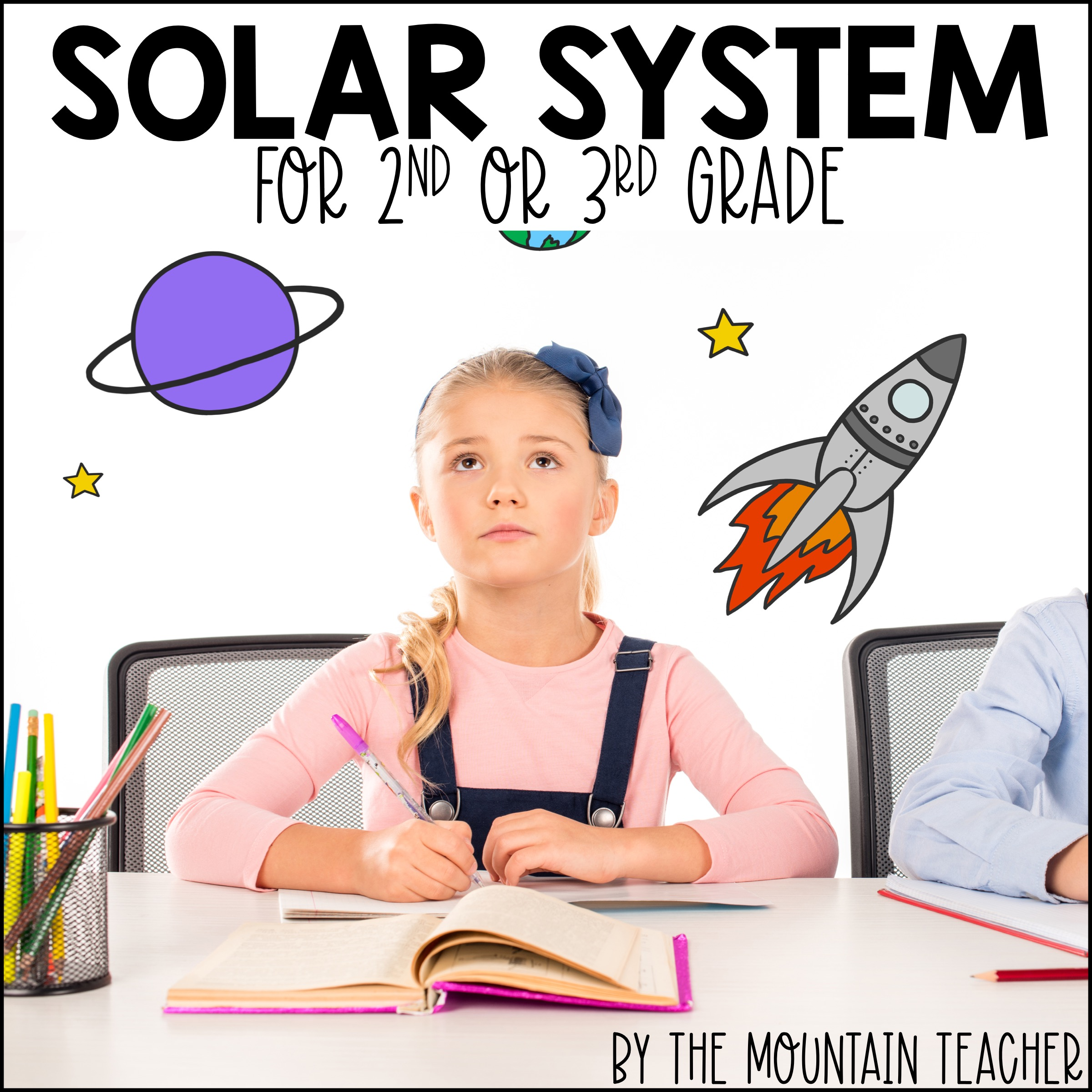 Solar System for 2nd or 3rd Grade Cover02